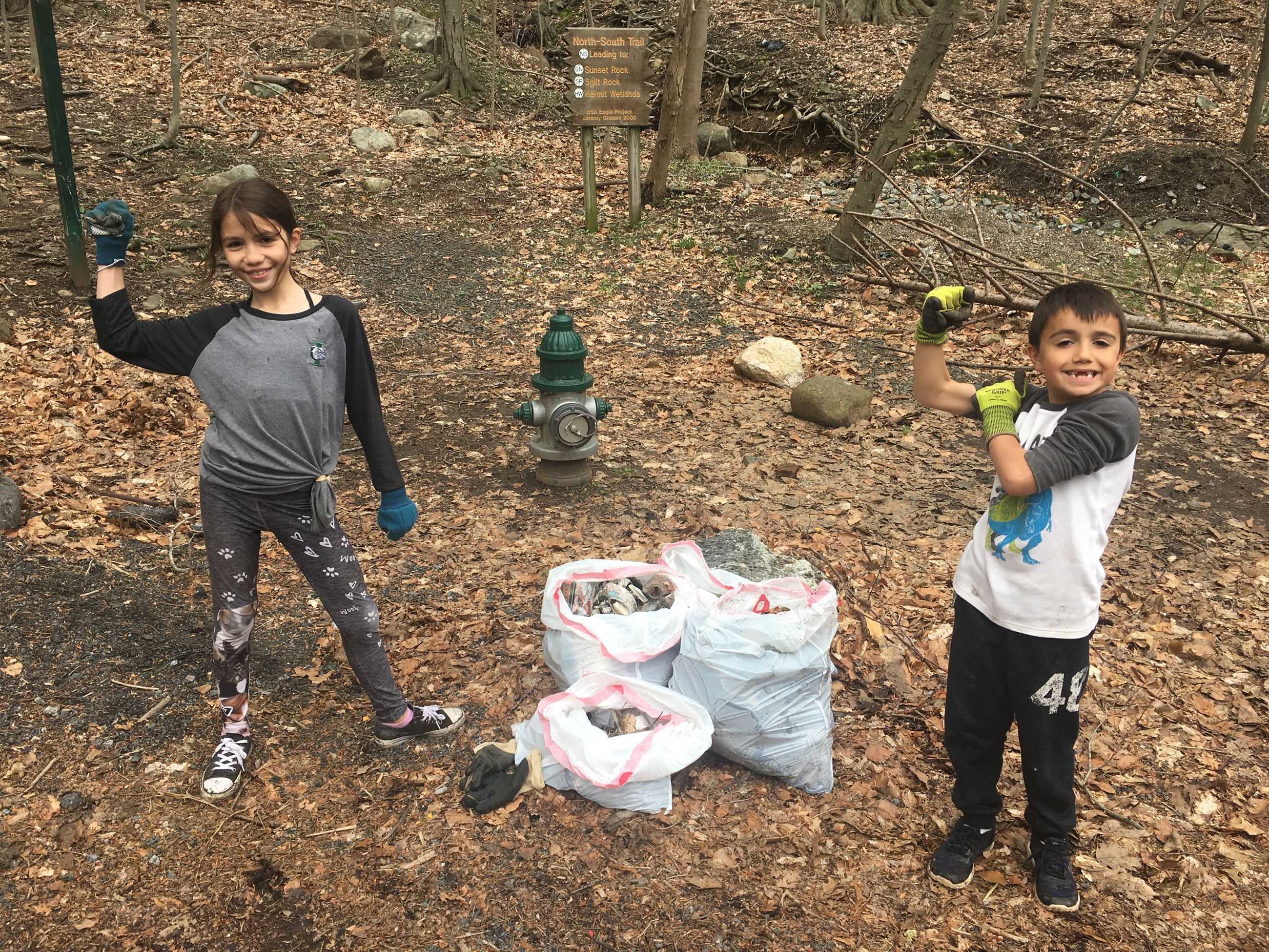 Earth Day cleanup at our reservoir!