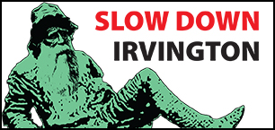 Slow Down Irvington logo